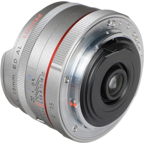 Pentax HD Pentax DA 15mm f/4 ED AL Limited Lens (Silver)