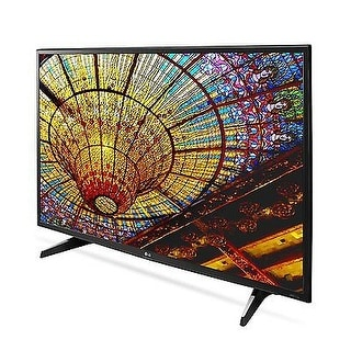LG Electronics 49UH610A 49-Inch 4K Ultra HD Smart LED TV (Refurbished) - Black