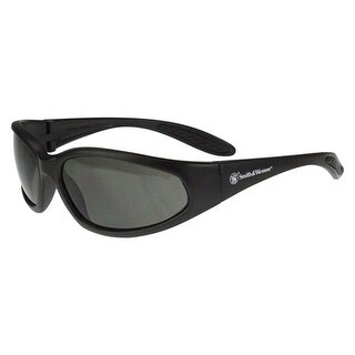 Smith & wesson sw503-20d s&w performance 12-pack shoot glasses black frame/smoke lens