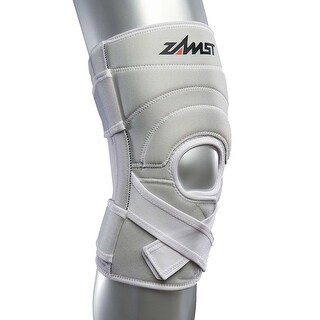 Zamst ZK-7 Injury/Prevention Medium White Knee Brace with Strong Support