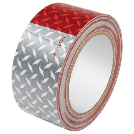 ALLSTAR PERFORMANCE 14242 Reflective Tape Diamond Plate 2in