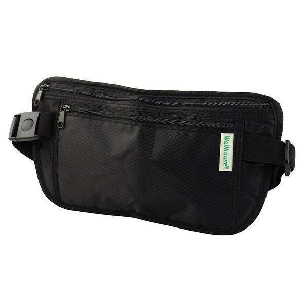 Wellhouse AuthorizedKeys Phone Pouch Holder Jogging Sports Waist Bag Balck L