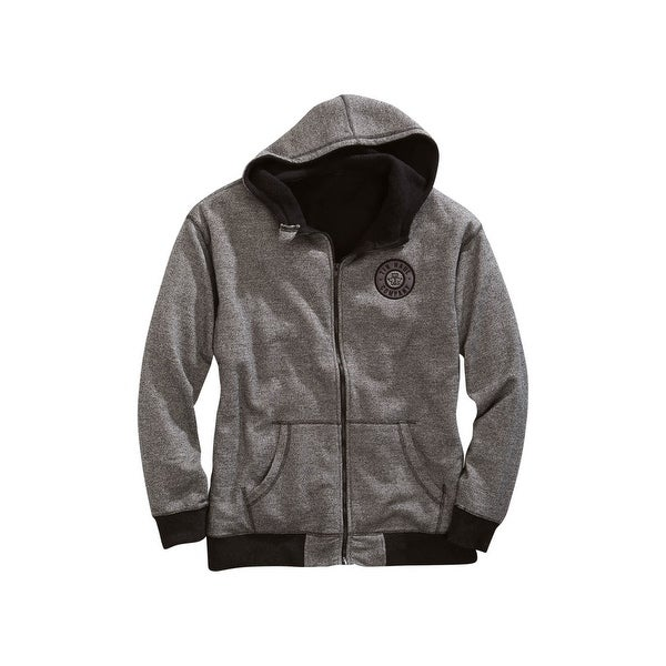 Tin Haul Western Jacket Mens Sherpa Zip Hood