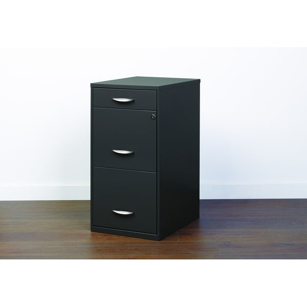Porch & Den Ferris 3-drawer Charcoal File Cabinet. Opens flyout.