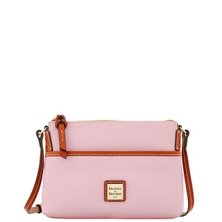 Dooney & Bourke Pebble Grain Ginger Pouchette (Introduced by Dooney & Bourke at $128 in Dec 2015) - BABY PINK