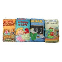 Clifford, Arthur, Babar, and Franklin the Turtle Storybook Pillows