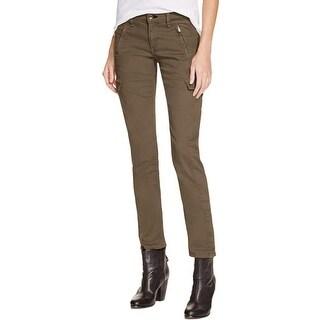 Rag & Bone Womens Cargo Jeans Skinny Medium Wash