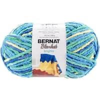 Spinrite  Bernat Blanket Brights Big Ball Yarn - Surf Variegated