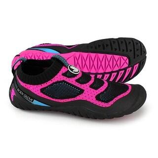 Body Glove Women's Aeon Water Shoe, Neon Pink/Neon Blue, 8 M Us