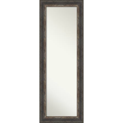 Bark Rustic On the Door Mirror Full Length Mirror