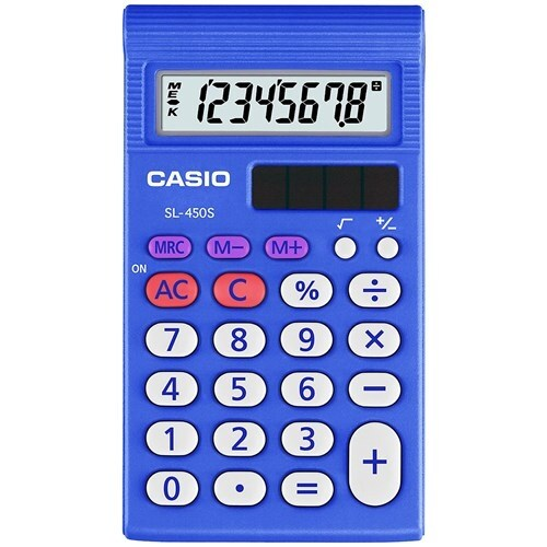 """Casio SL-450S Simple Calculator Basic Calculator"""