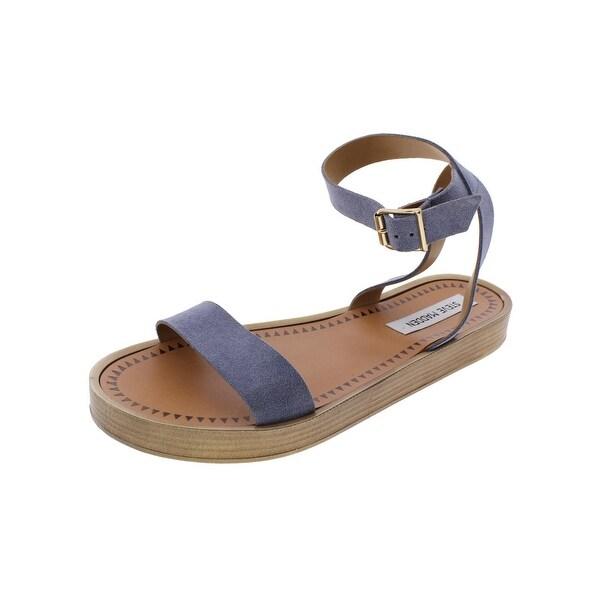Steve Madden Womens Mayleen Flatform Sandals Open Toe Slingback