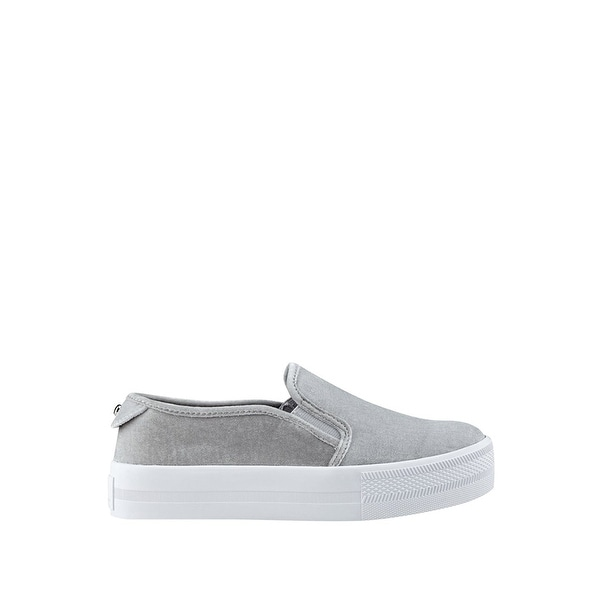 G by Guess Womens citti Velvet Low Top Slip On Fashion Sneakers