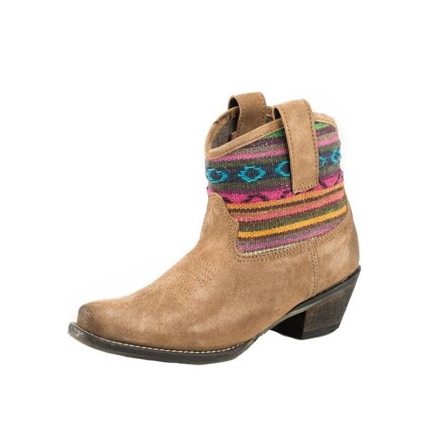 Roper Western Boots Womens Cowboy Fashion Tan