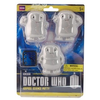 Doctor Who Adipose Putty Stress Toy Pack of 3 - multi