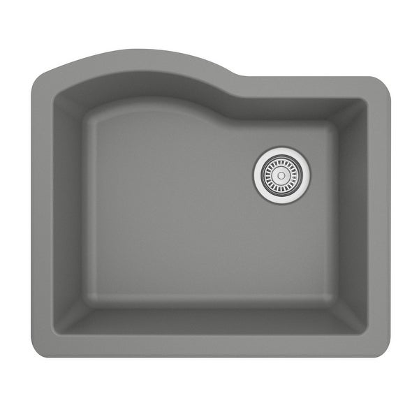 Karran Undermount Quartz Single Bowl Kitchen Sink. Opens flyout.