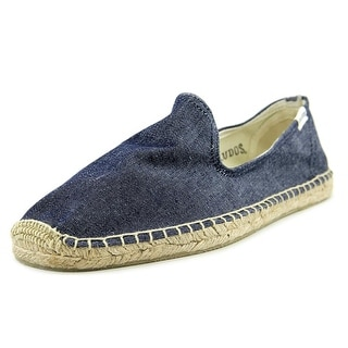 Soludos Smoking Slipper   Round Toe Canvas  Espadrille