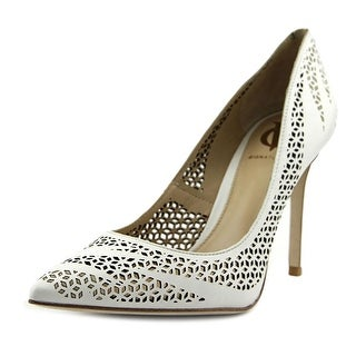 Vince Camuto Rafiq Women Pointed Toe Leather White Heels