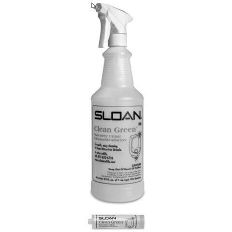 Sloan SJS-19 Waterfree Urinal Cleaner Starter Kit