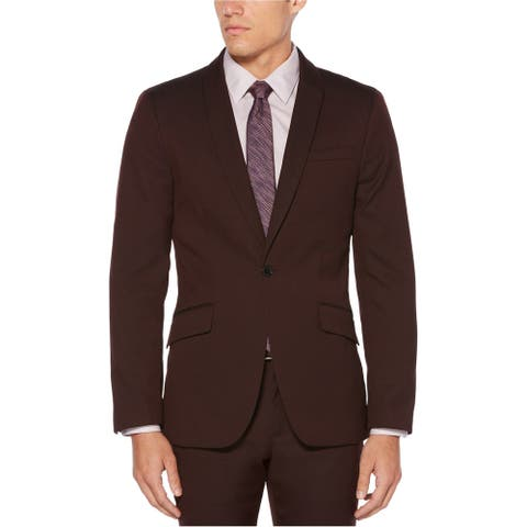 Perry Ellis Mens Textured Sport Coat - 38 Regular