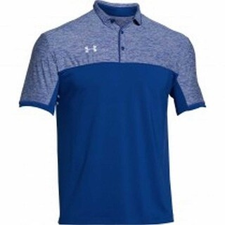 Under Armour Men's Team Podium Golf Polo Shirt Top, Assorted Colors 1276227