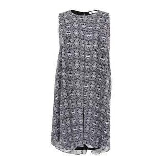 BCBGeneration Women's Sleeveless Printed Shift Dress