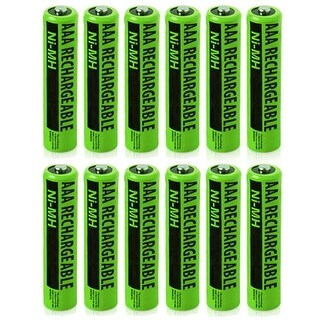 NiMH AAA 12-Pack for Panasonic Replacement Batteries