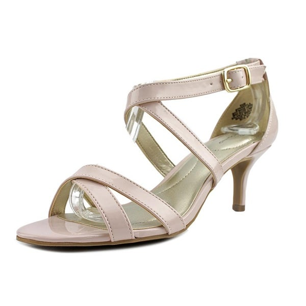 Bandolino Nakayla Women Open Toe Synthetic Pink Sandals