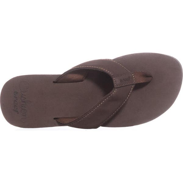 undefeated x great deals nice cheap Shop Reef Cushion Butter Wedge Flip Flops, Brown - Free ...