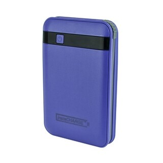 InstaCHARGE 11000mAh Portable Device And Phone Charger - Purple