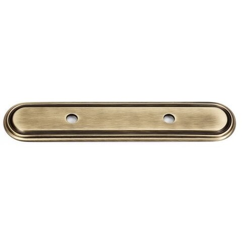 Alno A1507-3 Venetian 3 Inch Center to Center Cabinet Pull Backplate