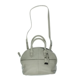 Aimee Kestenberg Womens Steph Lined Convertible Satchel Handbag - gray diamond - Large