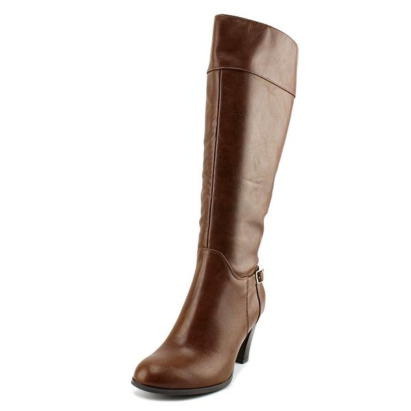 Giani Bernini Boelyn Wide Calf Women Cognac Boots