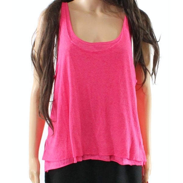 fc0b71e52f Shop Abound Women's Rib Layered Racerback Scoop-Neck Tank Top $22 - On Sale  - Free Shipping On Orders Over $45 - Overstock - 26908012