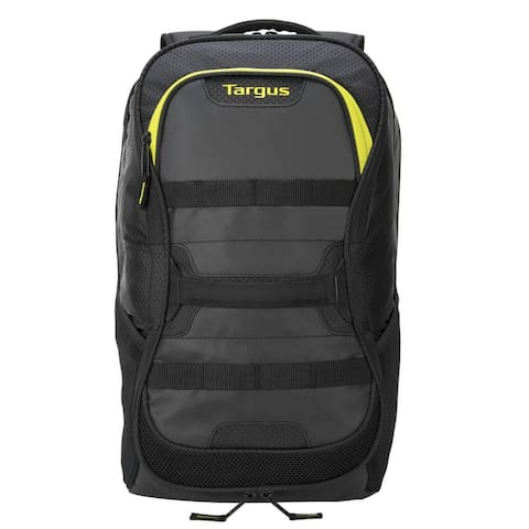 Targus 15.6 Inch Work + Play Fitness Backpack (Black/Yellow) - TSB944US