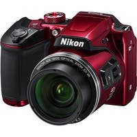 Nikon COOLPIX B500 Digital Camera (Red) (International Model)