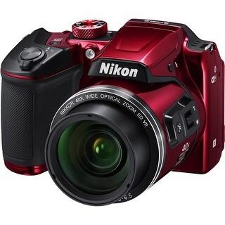 Nikon COOLPIX B500 Digital Camera (Red) (International Model)