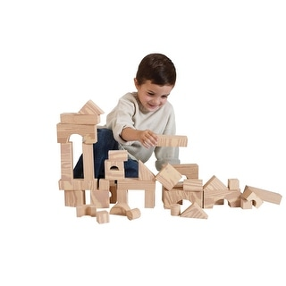 Edushape Wood grain Foam Blocks