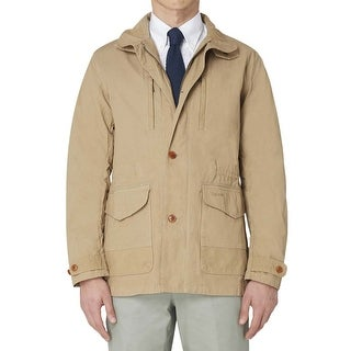 Barbour Cumbrae Stone Beige Cotton Casual Jacket Size Medium M