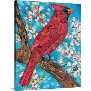 """Cardinal"" Canvas Wall Art"