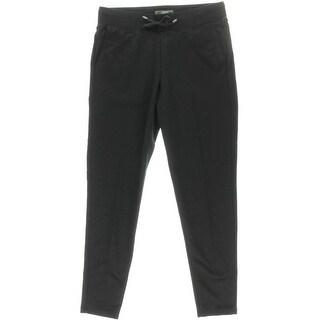 L-RL Lauren Active Womens Stretch Pocket Athletic Pants