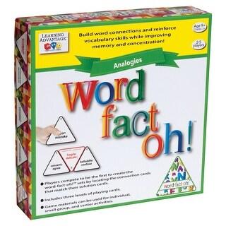 Word Fact Oh Analogies Game