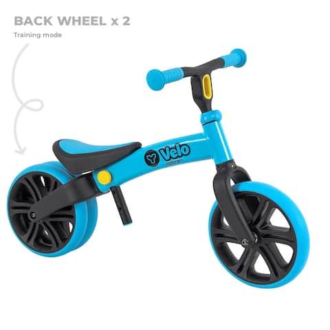 YVelo Junior Balance Bike Blue