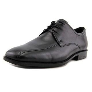 Ecco Edinburgh Men  Square Toe Leather Black Loafer