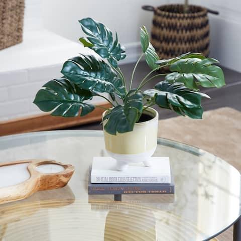 Green Polyethylene Traditional Artificial Foliage 16 x 21 x 20 - 21 x 20 x 16