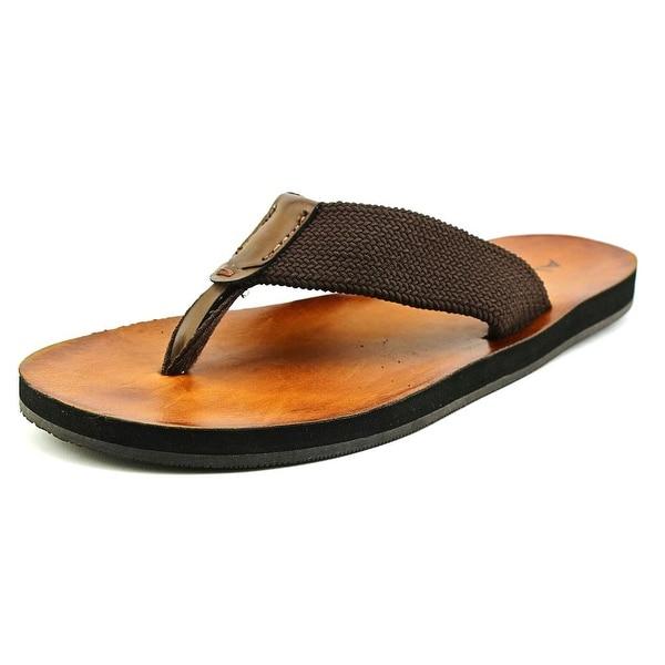 3f0e70a3da8 Shop Aldo Lararerien Flip Flops Men Open Toe Canvas Brown Flip Flop Sandal  - Free Shipping On Orders Over  45 - Overstock - 19989767