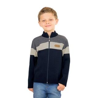 Pulla Bulla Little Boys' Zip Up Sweater