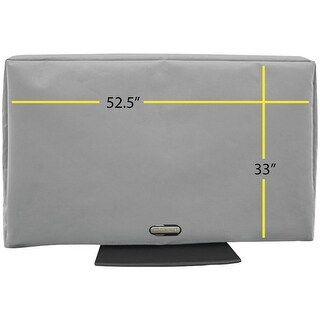 """Solaire Sol 55G 52.5""""-60"""" Outdoor Tv Cover"""