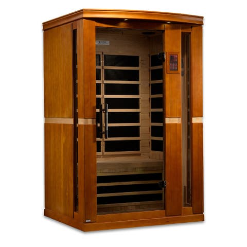 DYNAMIC Vittoria 2-Person Low EMF Far Infrared Sauna - White