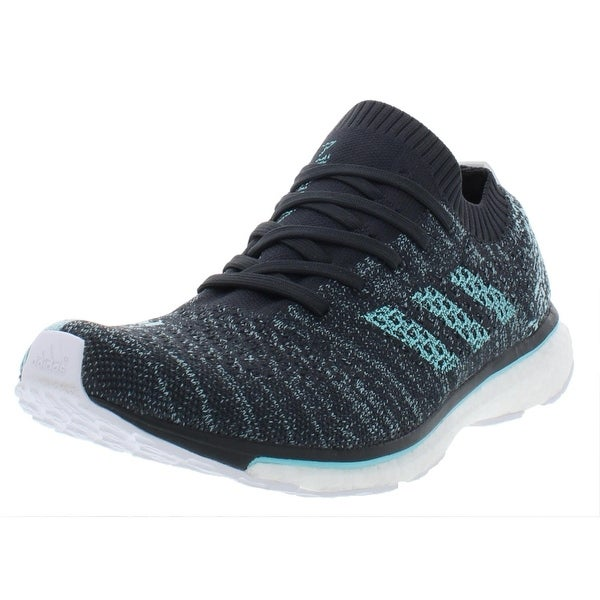 Adidas Mens Adizero Prime Parley Running Shoes Primeknit ...